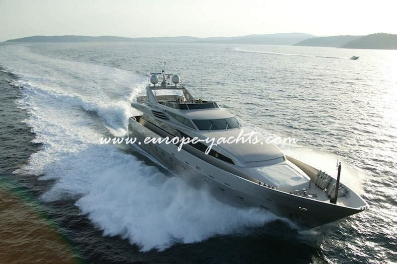 Lumar Luxury Mega Yacht for Charter Greece