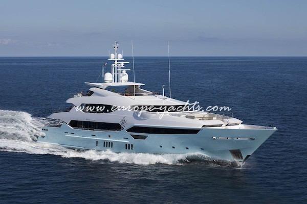 Blush Luxury Mega Yacht for Charter