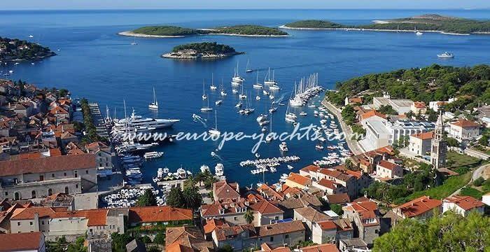 Hvar Town Yacht Charter Hvar Croatia