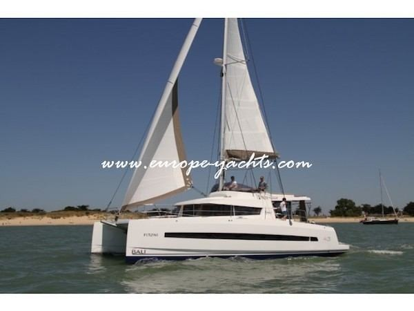 Bali 4.3 for charter in Greece Croatia with Europe Yachts left side