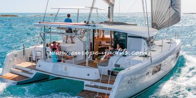 Lagoon 42 brand new catamaran for charter in Croatia