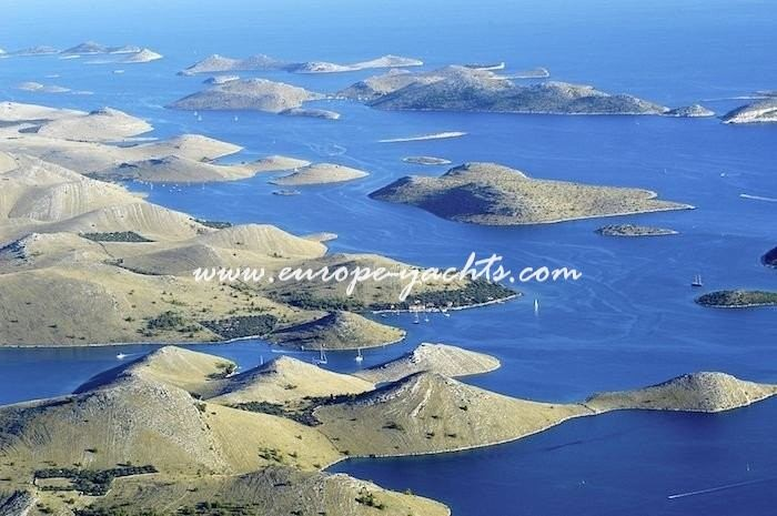 Kornati nacional park near Dubrovnik Croatia. Yacht Charter Croatia