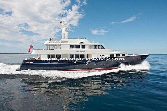Luxury Yacht Charter Croatia on board motor yacht Ninkasi with Europe Yachts Charter