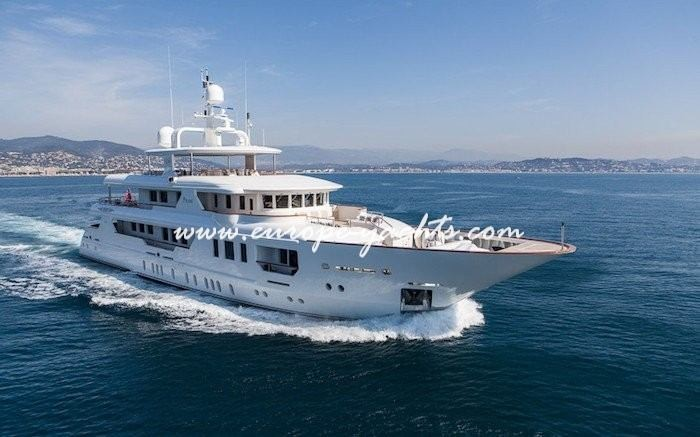 Luxury Yacht Charter Croatia on board motor yacht Price