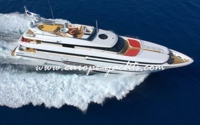 Balista luxury yacht charter Croatia and Greece with Europe Yachts Charter