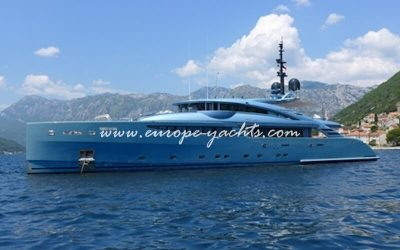 Philmi luxury yacht charter Croatia and France