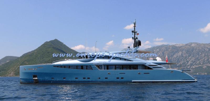 Philmi luxury yacht charter Croatia and France