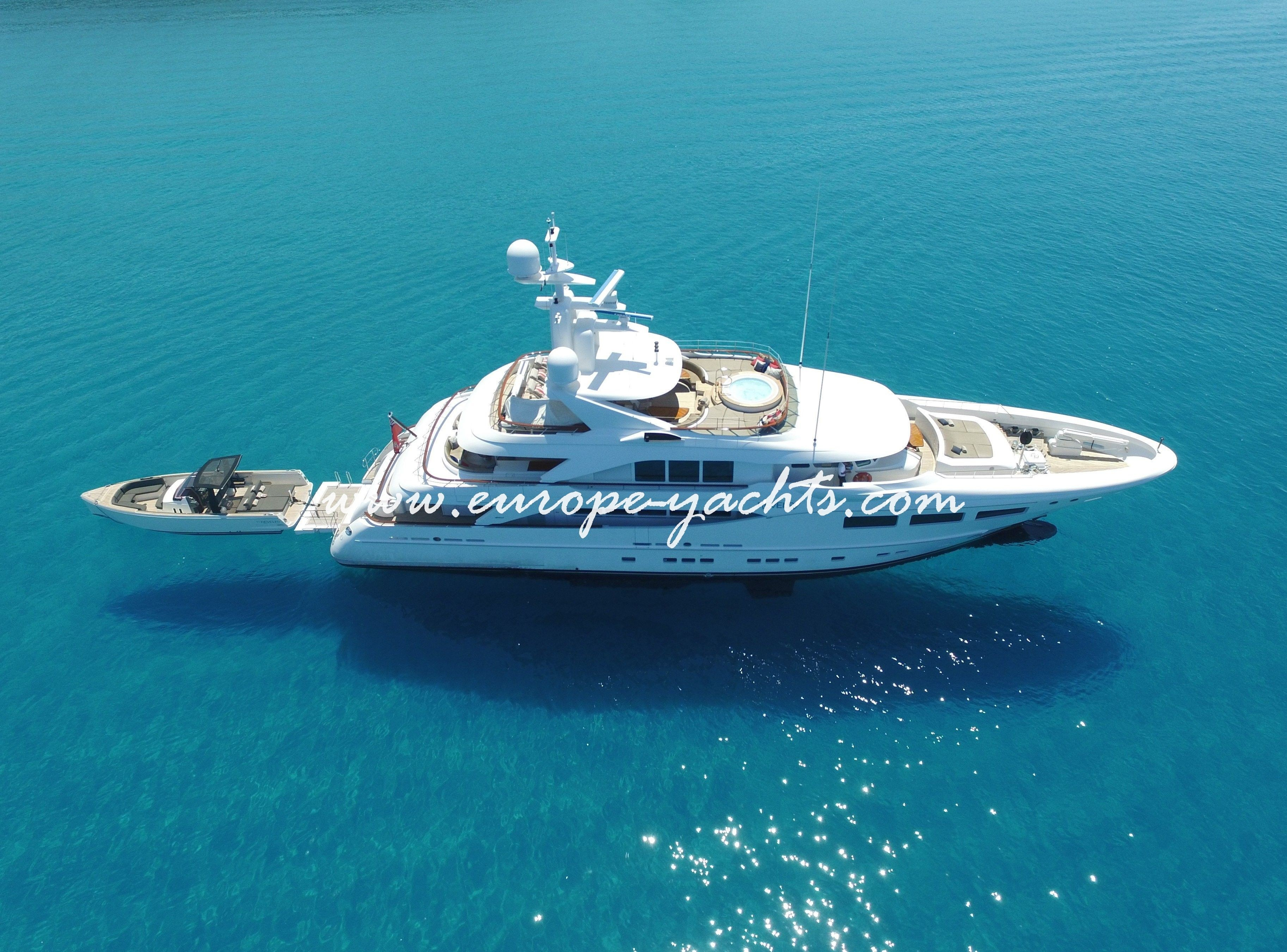 Revelry luxury yacht charter Croatia with Europe Yachts Charter