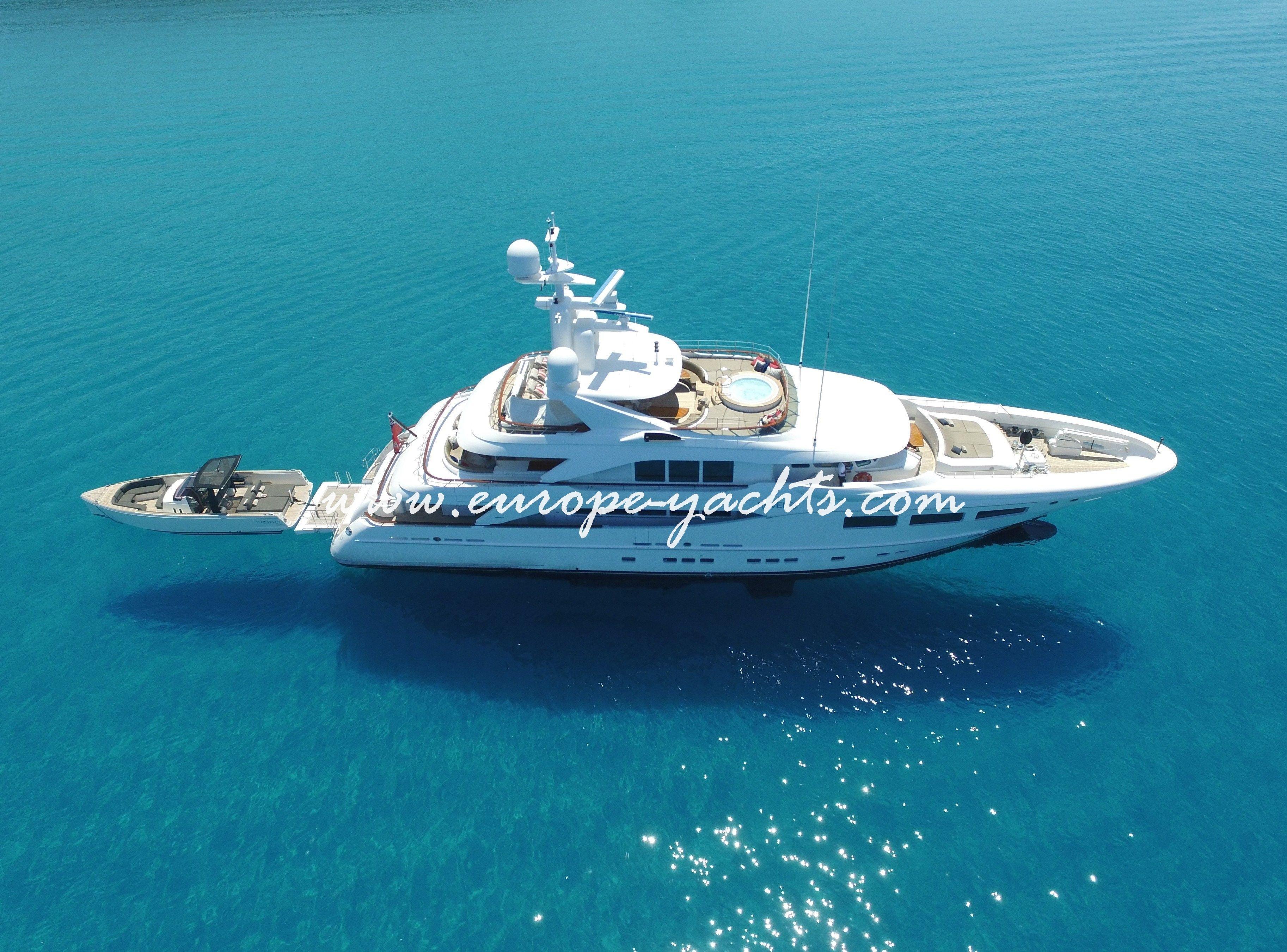 Revelry luxury yacht charter Croatia with Europe Yachts Charter