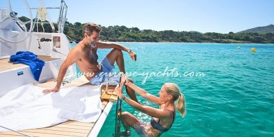 Sailing Yacht for Charter in Croatia on board Bavaria 37 - Swim Platform