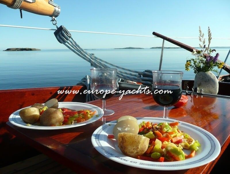 Cook or a hostess on catamaran - sailing yacht