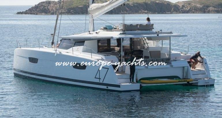 Saona 47 Catamaran Charter Croatia