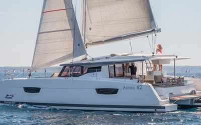 Astrea 42 Catamaran Charter Greece