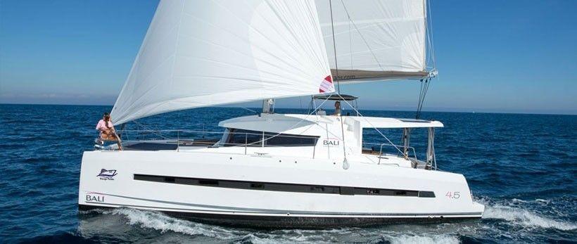 Bali 4.5 Catamaran Charter Croatia main