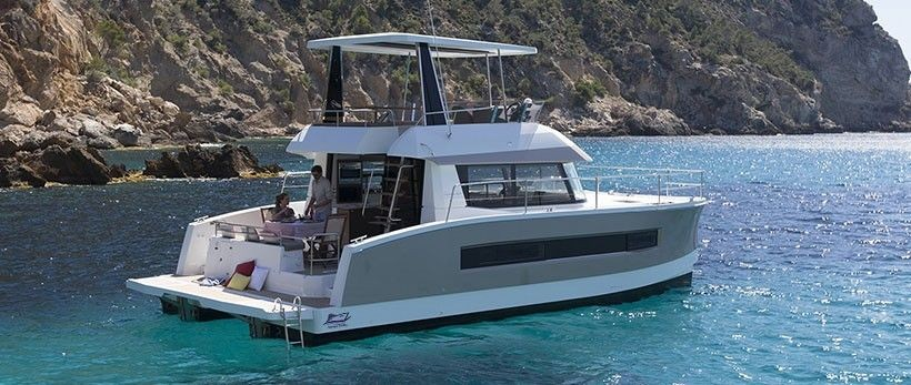 Fountaine Pajot MY 37 power catamaran Charter Croatia