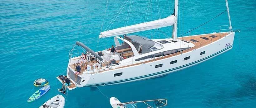 Jeanneau 64 Sailing Yacht Charter Croatia Main