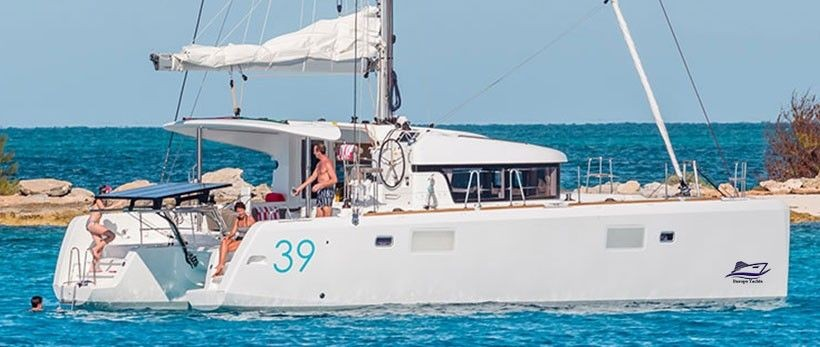 Lagoon 39 Catamaran Charter Greece