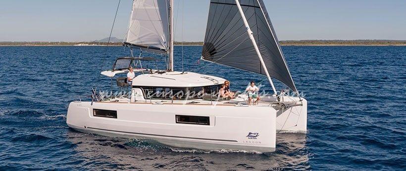 Lagoon 40 Catamaran Charter Greece