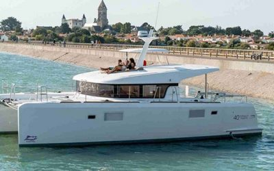 Lagoon 40 MY Power Catamaran Charter Croatia Main