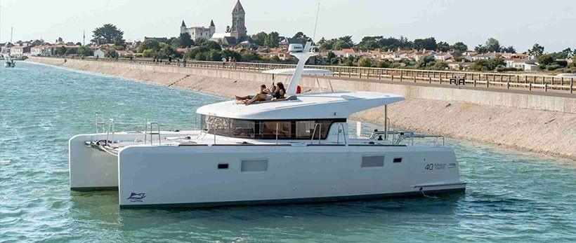 Lagoon 40 MY Power Catamaran Charter Croatia Main