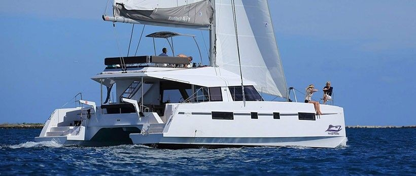 Nautitech Open 46 Fly Catamaran Charter Greece