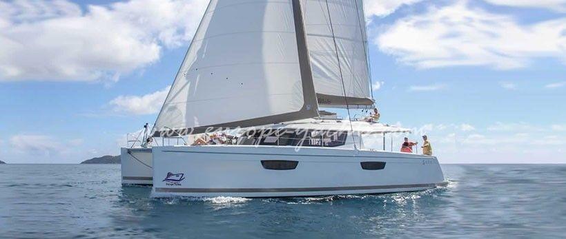 Saba 50 catamaran Charter Croatia