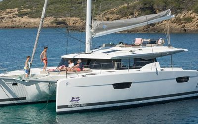 Fountaine Pajot Saona 47 Catamaran Charter Greece