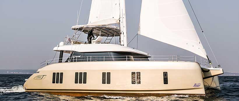 Sunreef 50 Catamaran Charter Greece Original Main