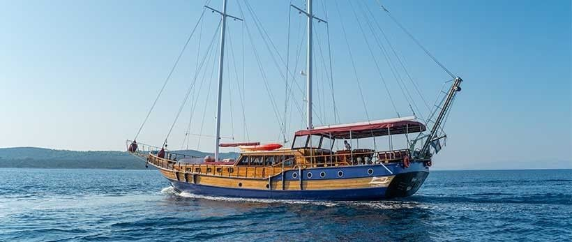 Tago Gulet Yacht Charter Croatia Main