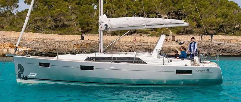 Beneteau Oceanis 41.1 Sailing Yachts Charter Croatia Main