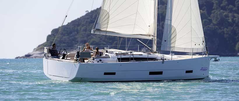 Dufour 390 GL Sailing Yachts Charter Croatia Main