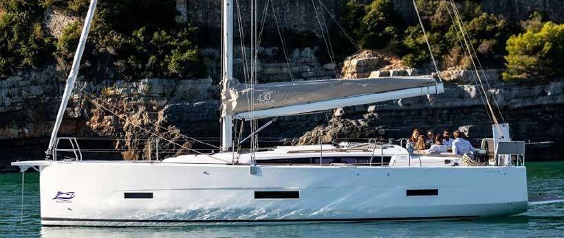 Dufour 430 GL Sailing Yacht Charter Croatia Main