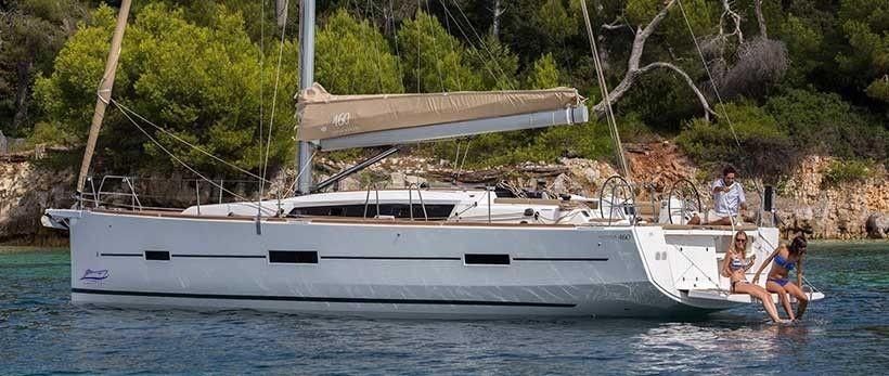 Dufour 460 GL Sailing Yacht Charter Croatia Main