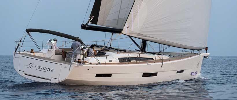 Dufour Exlusive 56 Sailing Yachts Charter Croatia Main