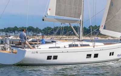 Hanse 548 Sailing Yacht Charter Croatia Main