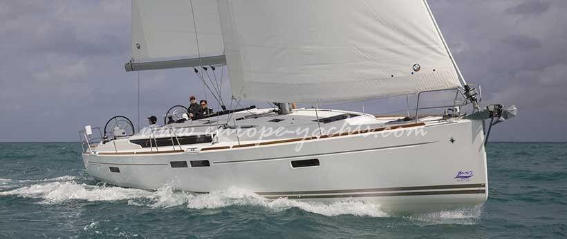 Jeanneau Sun Odyssey 349 Sailing Yacht Charter Croatia Main