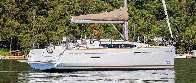 Jeanneau Sun Odyssey 389 Sailing Yacht Charter Croatia Main