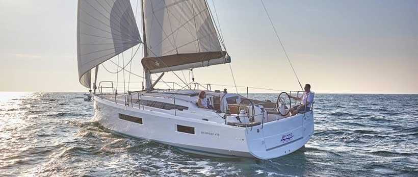 Jeanneau Sun Odyssey 410 Sailing Yacht Charter Croatia Main