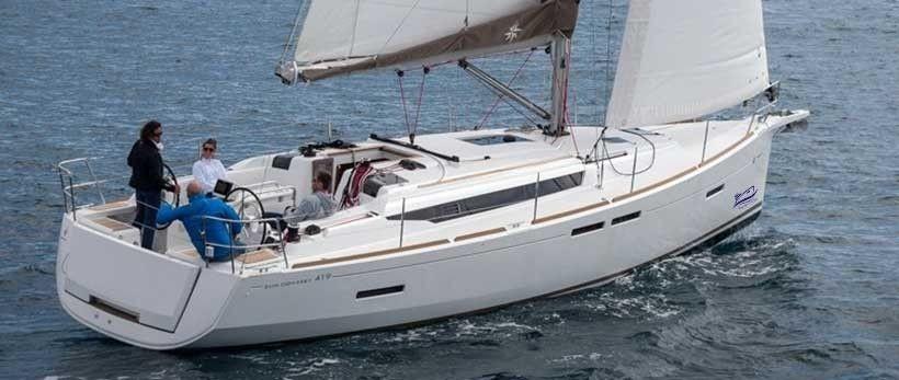 Jeanneau Sun Odyssey 419 Sailing Yacht Charter Croatia Main