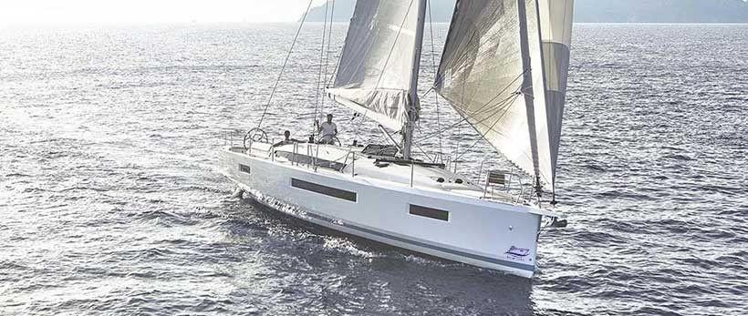Jeanneau Sun Odyssey 440 Sailing Yacht Charter Croatia Main