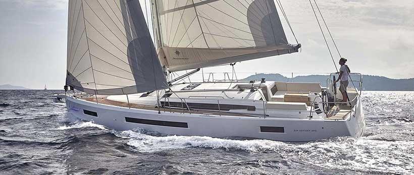 Jeanneau Sun Odyssey 490 Sailing Yacht Charter Croatia Main