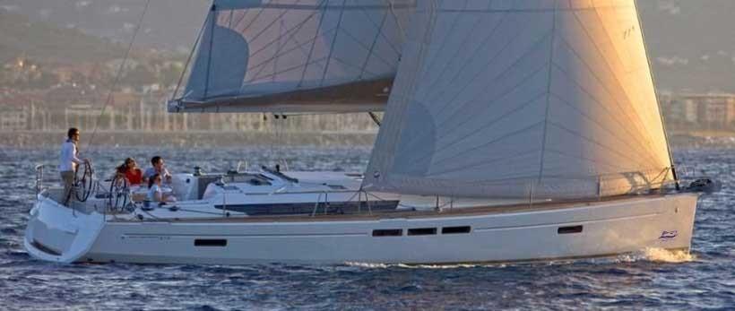 Jeanneau Sun Odyssey 519 Sailing Yacht Charter Croatia Main