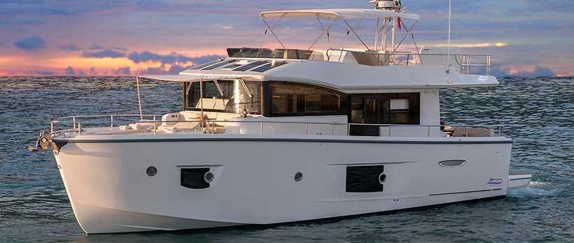 Crachi T53 Trawler Motor Yachts Charter Croatia Main