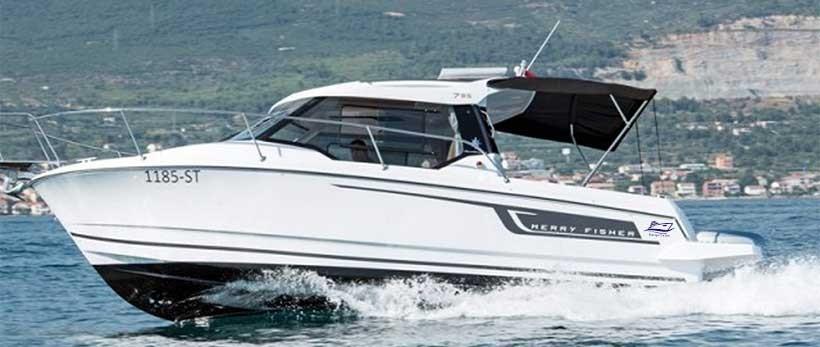 Merry Fisher 795 Motor Yachts Charter Croatia Main