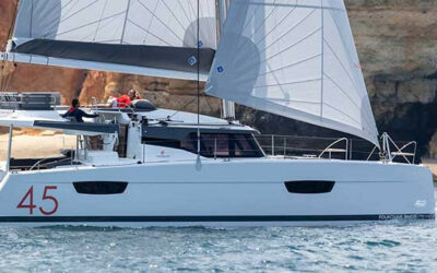 Fountaine Pajot Elba 45 Catamaran Charter Greece Main