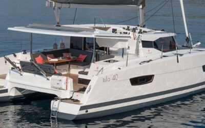 Isla 40 Catamaran Charter Greece Main