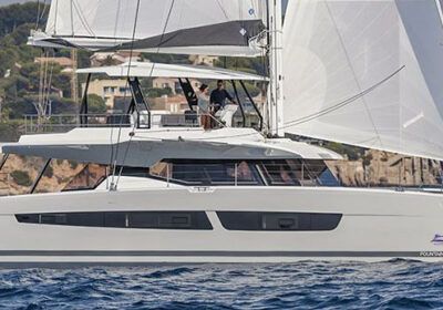 Samana 59 Catamaran Charter Greece Main