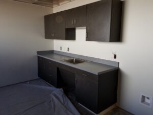 commercial cabinets custom