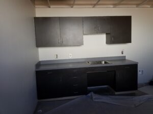 commercial cabinets custom sink