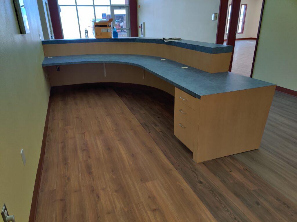 Custom Front Desk